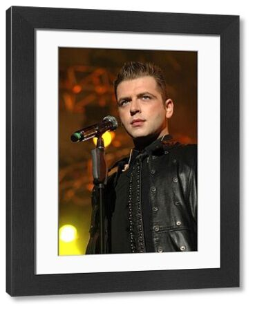 "Mark Feehily of Westlife performing live on their ""The Love 2007"" tour at the SECC & Clyde Auditorium (The Armadillo) in Glasgow - 06 April 2007 FAMOUS PICTURES AND FEATURES AGENCY 13 HARWOOD ROAD LONDON SW6 4QP UNITED KINGDOM tel"