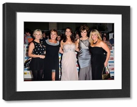 Lisa Maxwell, Denise Welch, Andrea McLean, Carole Vorderman and Sally Lindsay at The Pride of Britain Awards 2011 in London - 03 October 2011 FAMOUS PICTURES AND FEATURES AGENCY 13 HARWOOD ROAD LONDON SW6 4QP UNITED KINGDOM tel 0 fax 0 e-mail