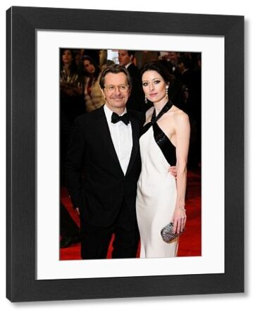 Gary Oldman and Alexandra Edenborough at the Orange British Academy Film Awards (aka the BAFTAs) held at the Royal Opera House in London - 12 February 2012 FAMOUS PICTURES AND FEATURES AGENCY 13 HARWOOD ROAD LONDON SW6 4QP UNITED KINGDOM tel