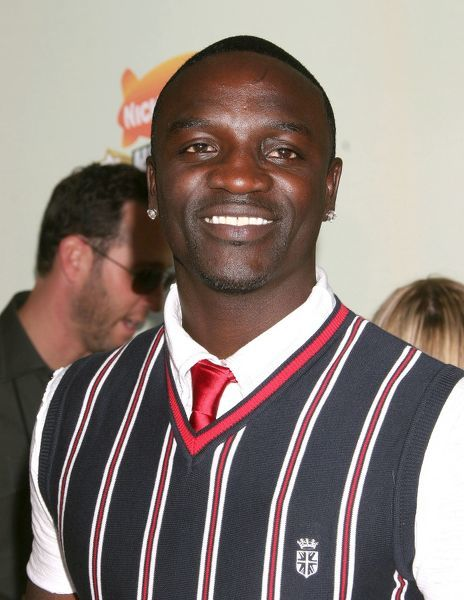 Akon at the 20th Nickelodeon Kids Choice Awards held at Pauley Pavilion on the UCLA Campus in Los Angeles - 31 March 2007 FAM19954