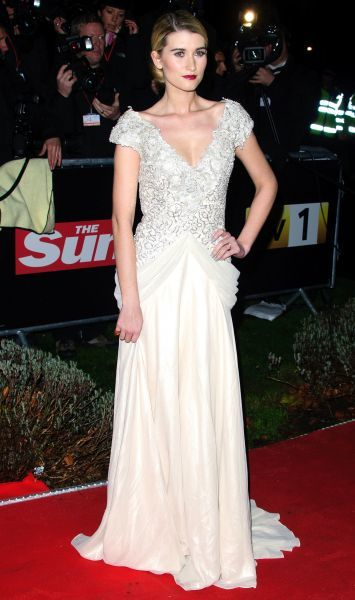 Charley Webb at The Sun Military Awards in London - 19 December 2011 FAM43557