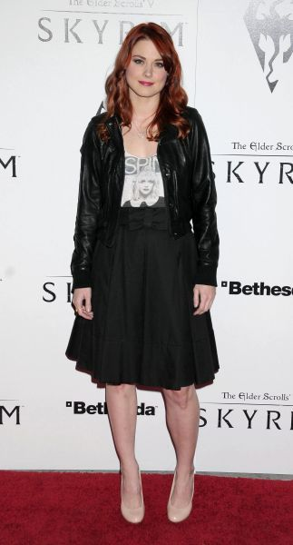 Alexandra Breckenridge at the Skyrim video game launch held at the Belasco Theater in Los Angeles - 08 November 2011 FAMOUS  PICTURES AND FEATURES AGENCY  13 HARWOOD ROAD LONDON SW6 4QP  UNITED KINGDOM  tel 0  fax 0  e-mail    FAM19397