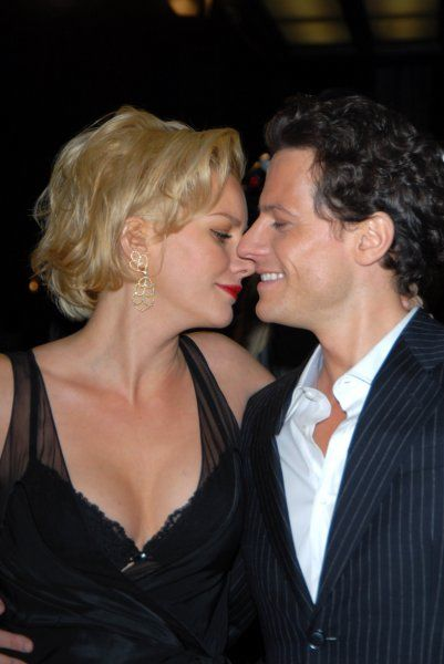 "Alice Evans and Ioan Gruffudd at the ""Amazing Grace"" UK Film Premiere at the Curzon Mayfair cinema in Curzon Street, London - 19 March 2007 FAM19841"