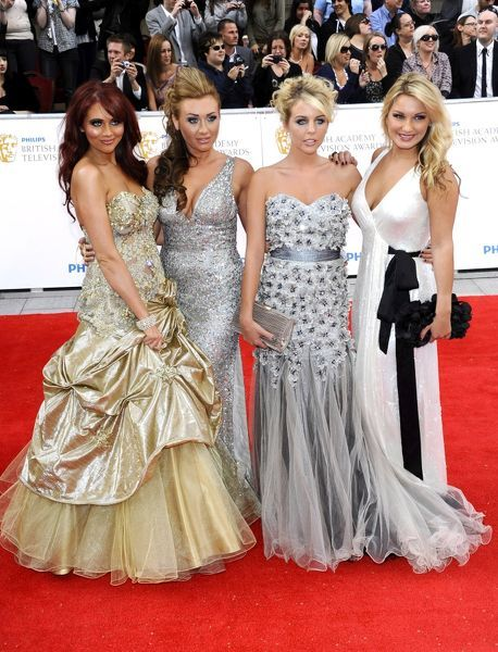 Amy Childs, Lydia Bright, Lauren Goodger and Sam Fraiers at the Philips British Academy Television Awards at Grosvenor House in London - 22 May 2011 FAMOUS PICTURES AND FEATURES AGENCY 13 HARWOOD ROAD LONDON SW6 4QP UNITED KINGDOM tel +44 (0)