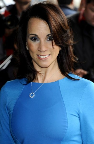 Andrea McLean at The TRIC Awards held at Grosvenor House in London - 13 March 2012