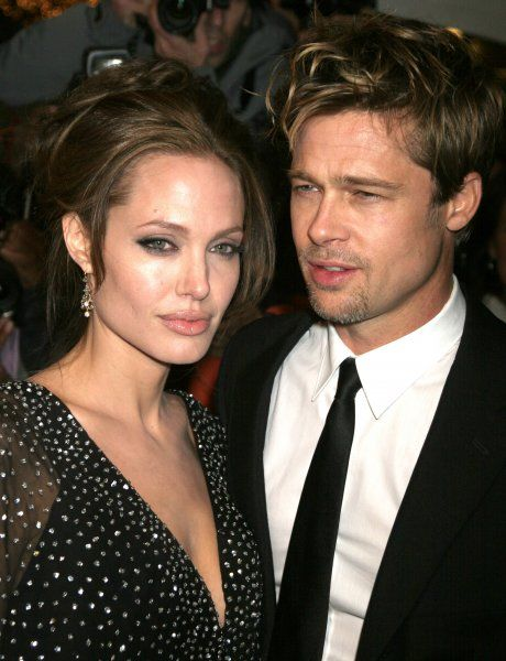 "Angelina Jolie and Brad Pitt at the New York premiere of ""The Good Shepherd"" in New York City - 11 December 2006 FAM19265"