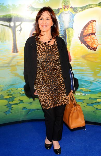 Arlene Phillips at the premiere of 'Cirque du Soleil: Totem' in London - 05 January 2012 FAM43598