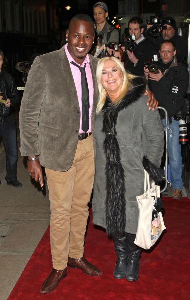 Ben Ofoedu and Vanessa Feltz at the VIP Gala screening of 'Shame' at the Curzon Mayfair in London - 10 January 2012 FAMOUS PICTURES AND FEATURES AGENCY 13 HARWOOD ROAD LONDON SW6 4QP UNITED KINGDOM tel 0 fax 0 e-mail  FAM43636