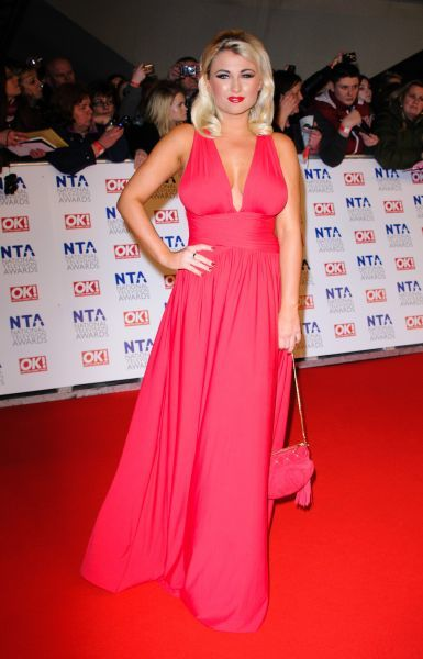 Billie Faiers at the National Television Awards held at the O2 Arena in London - 25 January 2012 FAM43763