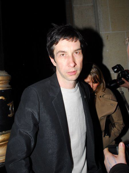 Bobby Gillespie of Primal Scream at the aftershow party for the Teenage Cancer Trust gig at the Maddox club in London - 28 March 2007 FAM19932