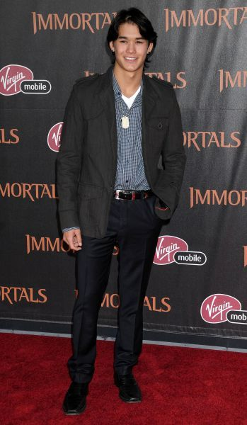 Booboo Stewart at the premiere of 'Immortals' held at the Nokia Theater L.A. Live in Los Angeles - 07 November 2011 FAMOUS PICTURES AND FEATURES AGENCY 13 HARWOOD ROAD LONDON SW6 4QP UNITED KINGDOM tel 0 fax 0 e-mail FAM43119