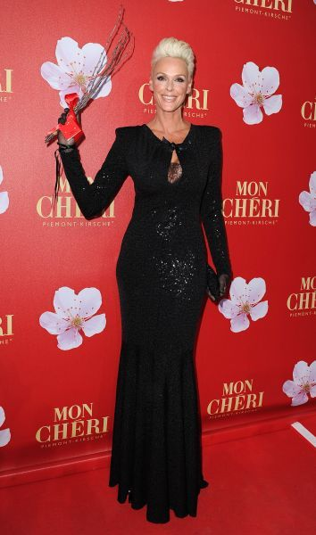 Brigitte Nielsen at the Mon Cheri event in Munich - 03 December 2011 FAMOUS  PICTURES AND FEATURES AGENCY  13 HARWOOD ROAD LONDON SW6 4QP  UNITED KINGDOM  FAM43421
