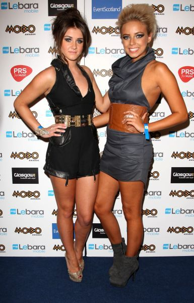Brooke Vincent and Sacha Parkinson at The MOBO Awards in Glasgow - 05 October 2011 FAM42720
