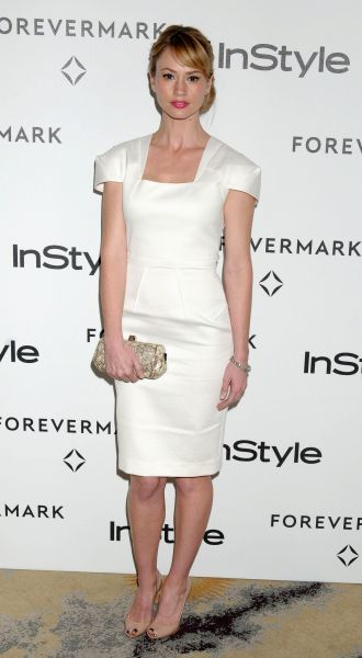 Cameron Richardson at the Forevermark and InStyle Pre-Golden Globe Party held at the Beverly Hills Hotel in Los Angeles - 10 January 2012 FAMOUS  PICTURES AND FEATURES AGENCY  13 HARWOOD ROAD LONDON SW6 4QP  UNITED KINGDOM  FAM43644