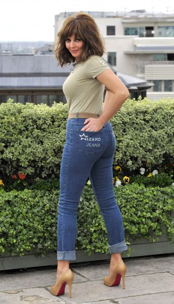 Carol Vorderman at the photocall for Wizard Jeans Rear Of The Year Award 2011 at the Dorchester Hotel in London - 08 June 2011 FAM41571