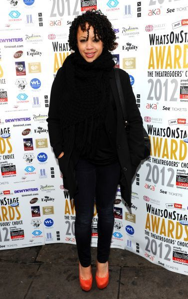 Cat Simmons at the WhatsonstageTheatregoers' Choice Awards?Press Launch and Nominations Announcement at Cafe de Paris in London - 02 December 2011  FAM43415