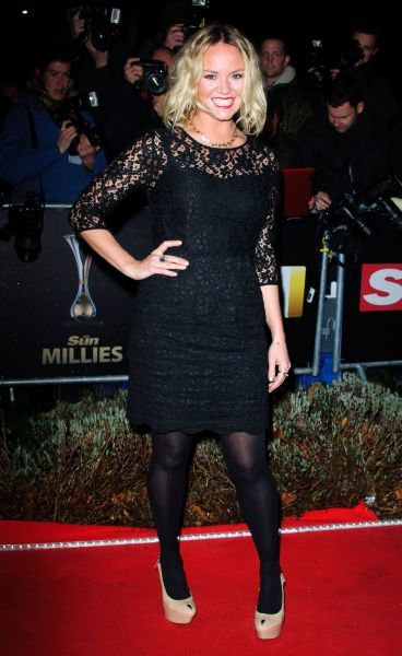 Charlie Brooks at The Sun Military Awards in London - 19 December 2011FAM43557