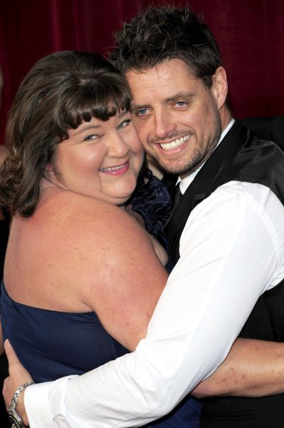 Cheryl Fergison and Keith Duffy at the 2010 British Soap Awards at the London Television Centre in London - 08 May 2010  FAM38487