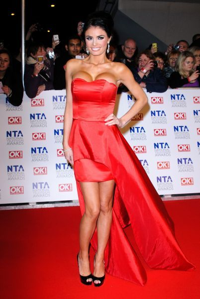 Chloe Sims at the National Television Awards held at the O2 Arena in London - 25 January 2012 FAM43763