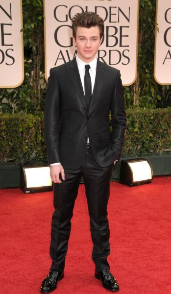 Chris Colfe at the 69th Annual Golden Globe Awards presented by the Hollywood Foreign Press Association at Hotel Beverly Hilton in Los Angeles - 15 January 2012  FAMOUS PICTURES AND FEATURES AGENCY 13 HARWOOD ROAD LONDON SW6 4QP UNITED KINGDOM