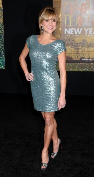 Christine Lakin at the World premiere of 'New Year's Eve' held at Grauman's Chinese Theater in Hollywood, Los Angeles - 05 December 2011 FAM43434