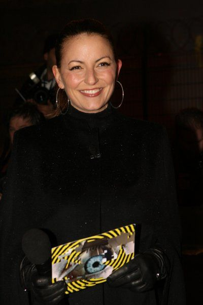 Davina Mcall attends the opening night of the new series of Celebrity Big Brother, at Elstree Studios, London - 3 January 2007 FAMOUS PICTURES AND FEATURES AGENCY 13 HARWOOD ROAD LONDON SW6 4QP UNITED KINGDOM tel 0 fax 0 e-mail FAM19320