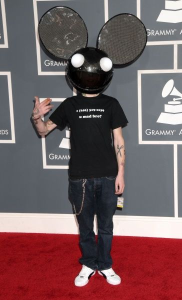 Deadmau5 at the 2012 Grammy Awards held at the Staples Center in Los Angeles - 12 February 2012 FAMOUS PICTURES AND FEATURES AGENCY 13 HARWOOD ROAD LONDON SW6 4QP UNITED KINGDOM tel 0 fax 0 e-mail FAM43931