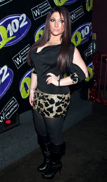 "Deena Nicole Cortese hosts ""The Party's Here"" at Shampoo Nightclub in Philadelphia - 29 December 2011  FAMOUS PICTURES AND FEATURES AGENCY 13 HARWOOD ROAD LONDON SW6 4QP UNITED KINGDOM tel 0 fax 0 e-mail  FAM43583"