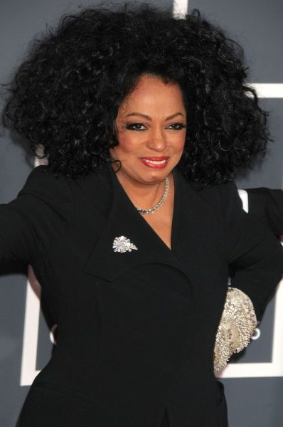 Diana Ross at the 2012 Grammy Awards held at the Staples Center in Los Angeles - 12 February 2012 FAM43931