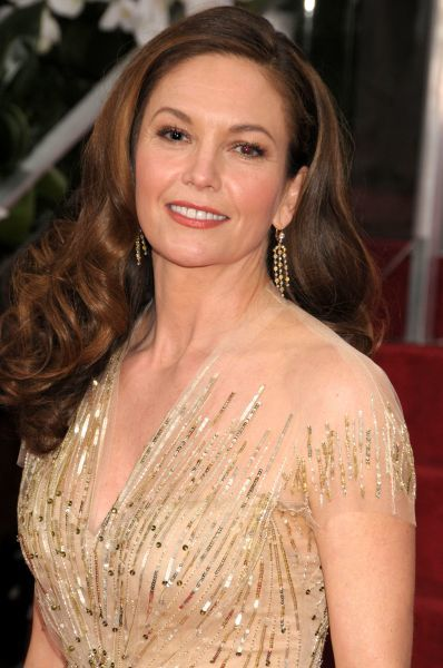 Diane Lane at the 69th Annual Golden Globe Awards presented by the Hollywood