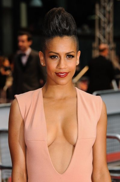 Dominique Tipper at the premiere of 'Fast Girls' in London - 07 June 2012 FAM45251
