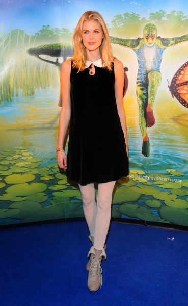 Donna Air at the premiere of 'Cirque du Soleil: Totem' in London - 05 January 2012 FAM43598