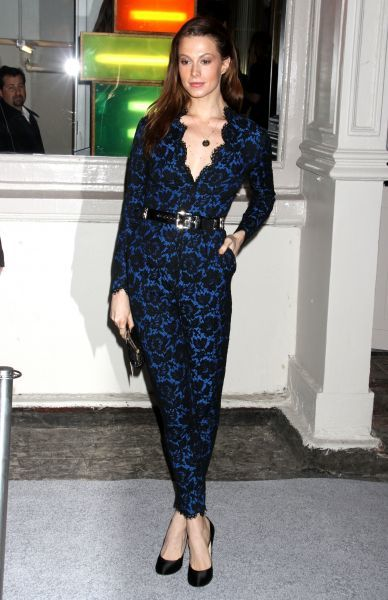 Elettra Rossellini Wiedemann at the Stella McCartney store opening in Soho, New York City - 09 January 2012 FAM43628