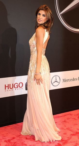 Elisabetta Canalis at the GQ Man of the Year Award at the Komische Oper in Berlin - 28 October 2011  FAM42991