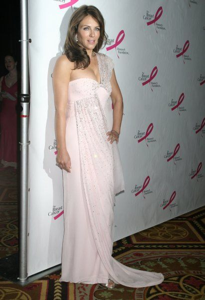 Elizabeth Hurley at the Breast Cancer Research Foundation's annual Hot Pink Party at the Waldorf Astoria in New York City - 24 April 2007 FAMOUS PICTURES AND FEATURES AGENCY 13 HARWOOD ROAD LONDON SW6 4QP UNITED KINGDOM tel 0 fax 0 e-mail FAM20312