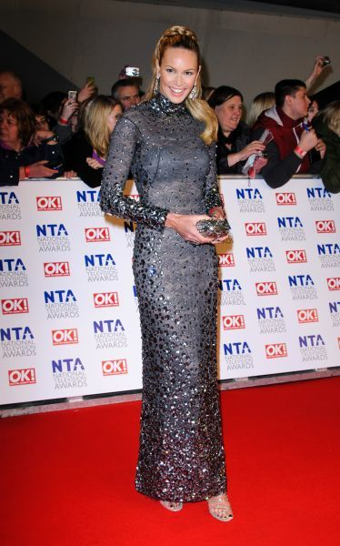 Elle Macpherson at the National Television Awards held at the O2 Arena in London - 25 January 2012 FAM43763