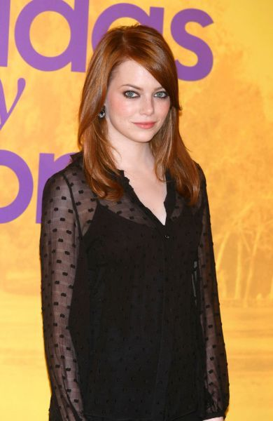 Emma Stone at a photocall for 'The Help' in Madrid - 03 October 2011. FAM42676