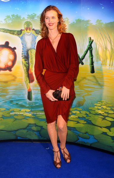 Eva Herzigova at the premiere of 'Cirque du Soleil: Totem' in London - 05 January 2012 FAM43598