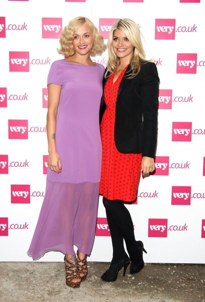 Fearne Cotton and Holly Willoughby at the Veryshow during London Fashion Week - 20 September 2011 FAM42531