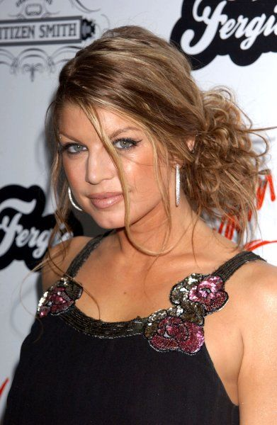 Fergie from Black Eyed Peas at her Birthday Celebration held at Club Citizen Smith in Hollywood - 28 March 2006