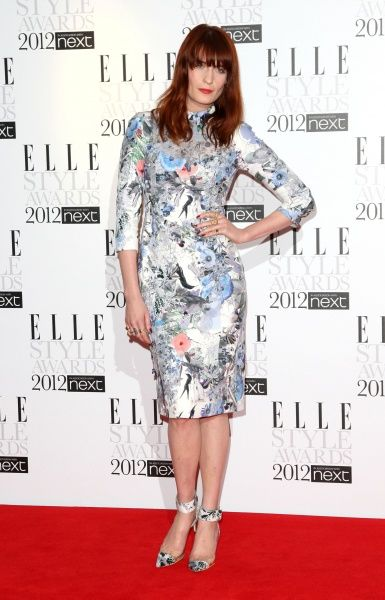 Florence Welch at the Elle Style Awards 2012 in London - 13 February 2012 FAMOUS PICTURES AND FEATURES AGENCY 13 HARWOOD ROAD LONDON SW6 4QP UNITED KINGDOM tel 0 fax 0 e-mail  FAM43945