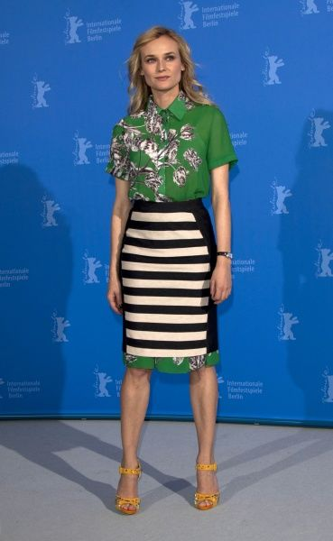 NO GERMANY. Diane Kruger at the photocall for 'Farewell