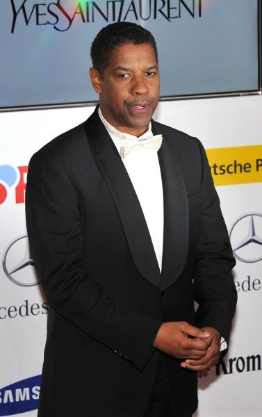 Denzel Washington at the 47th Golden Camera Awards at the Axel Springer Haus in Berlin, Germany - 04 February 2012  FAM43844