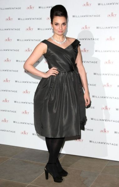 Gizzi Erskine at the Gillian Anderson and William Vintage BAFTA dinner at St Pancras Renaissance Hotel in London - 10 February 2012 FAMOUS PICTURES AND FEATURES AGENCY 13 HARWOOD ROAD LONDON SW6 4QP UNITED KINGDOM tel 0 fax 0 e-mail  FAM43902