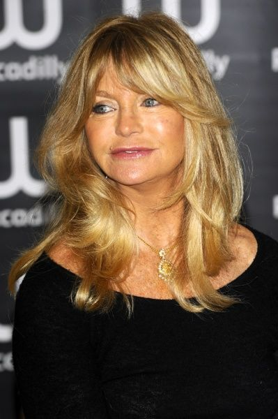 Goldie Hawn at a signing of her new book, 10 Mindful Minutes, at Waterstones in London - 07 March 2012 FAM44173