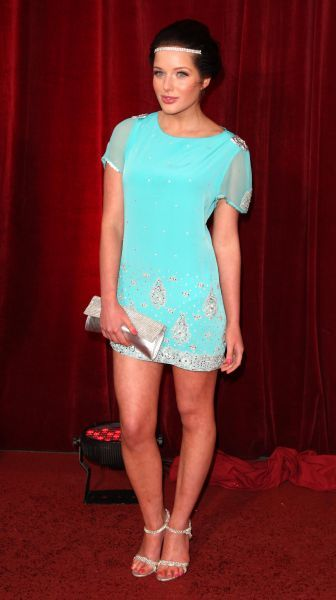 Helen Flanagan at the 2010 British Soap Awards at the London Television Centre in London - 08 May 2010 FAM38487