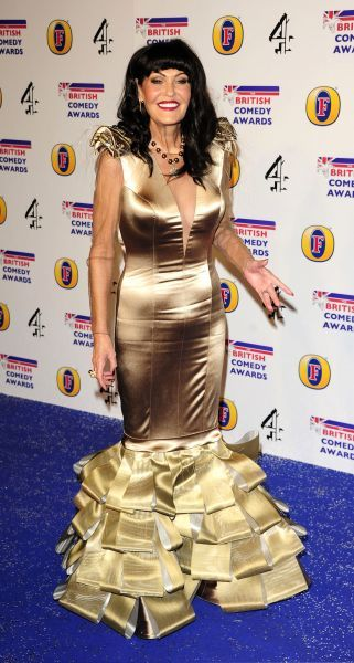 Hilary Devey at the British Comedy Awards at Fountain Studios in London - 16 December 2011 FAMOUS PICTURES AND FEATURES AGENCY 13 HARWOOD ROAD LONDON SW6 4QP UNITED KINGDOM tel 0 fax 0 e-mail  FAM43543