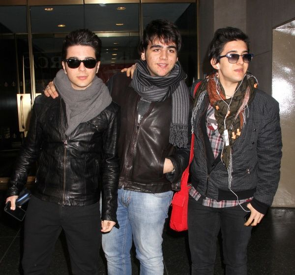 Il Volo out and about in New York City - 05 March 2012FAM44156