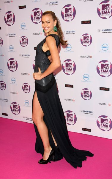 Irina Shayk at the MTV Europe Music Awards held at the Odyssey Arena in Belfast - 06 November 2011 FAMOUS PICTURES AND FEATURES AGENCY 13 HARWOOD ROAD LONDON SW6 4QP UNITED KINGDOM tel 0 fax 0 e-mail  FAM43091