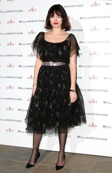 Jasmine Guinness at the Gillian Anderson and William Vintage BAFTA dinner at St Pancras Renaissance Hotel in London - 10 February 2012 FAM43902